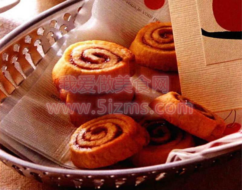 烘焙入门烘焙食谱之树莓圈饼