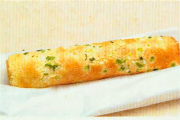 烘焙入门烘焙食谱之葱花肉松咸蛋糕卷制作步骤15