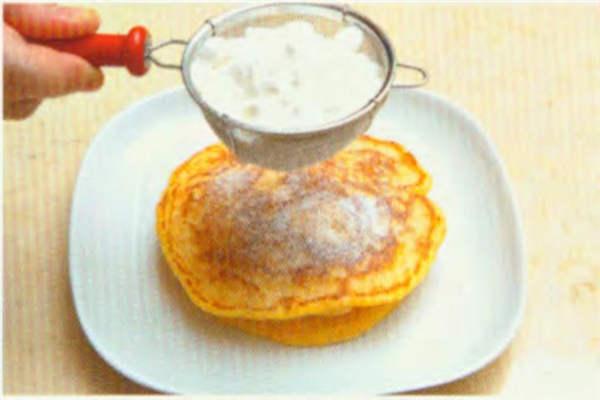 烘焙入门烘焙食谱之地瓜松饼制作步骤9