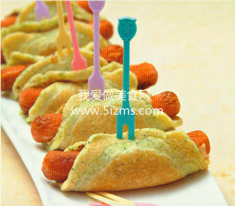 烘焙入门烘焙食谱之蔬菜松饼