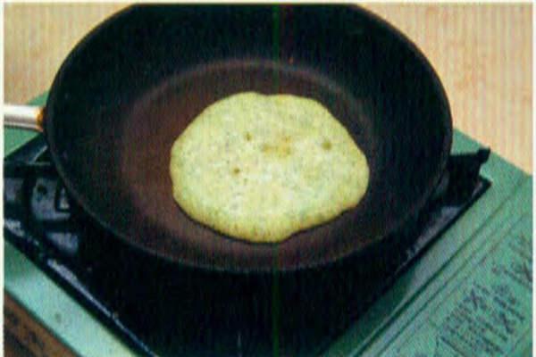 烘焙入门烘焙食谱之蔬菜松饼制作步骤8