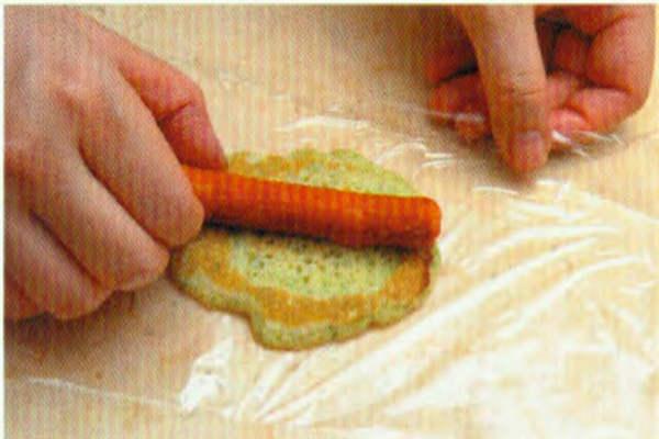 烘焙入门烘焙食谱之蔬菜松饼制作步骤9