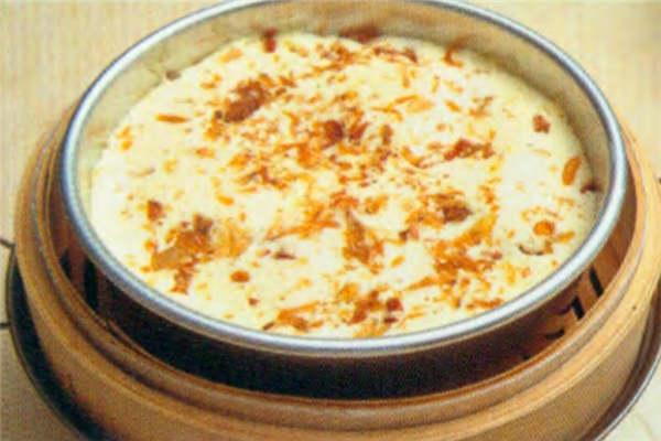 烘焙入门烘焙食谱之蒸咸蛋糕制作步骤8