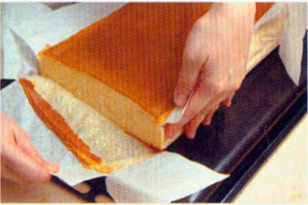 烘焙入门烘焙食谱之古典蜂蜜蛋糕制作步骤13