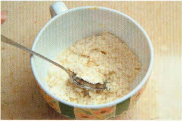 烘焙入门烘焙食谱之鲜味豆腐小松糕制作步骤3