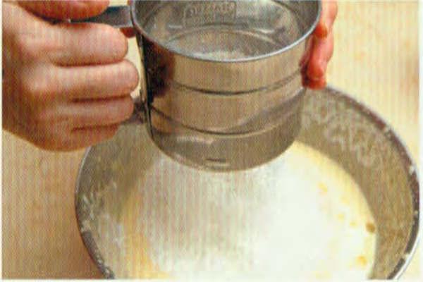 烘焙入门烘焙食谱之鲜味豆腐小松糕制作步骤6