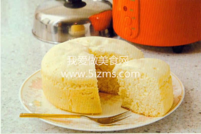 烘焙入门烘焙食谱之电饭锅蒸蛋糕