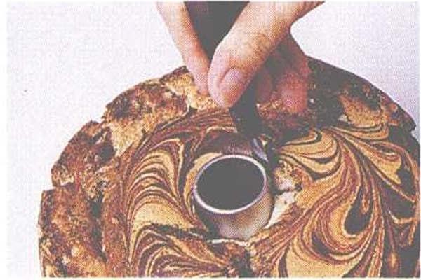 烘焙入门烘焙食谱之大理石雪纺蛋糕制作步骤9