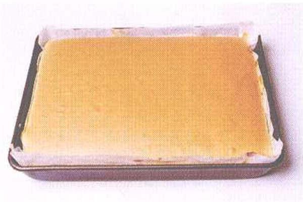 烘焙入门烘焙食谱之黄金蛋糕:制作步骤8