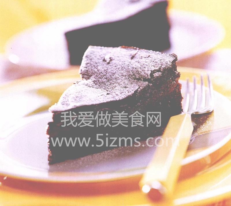 巧克力蓝莓蛋糕