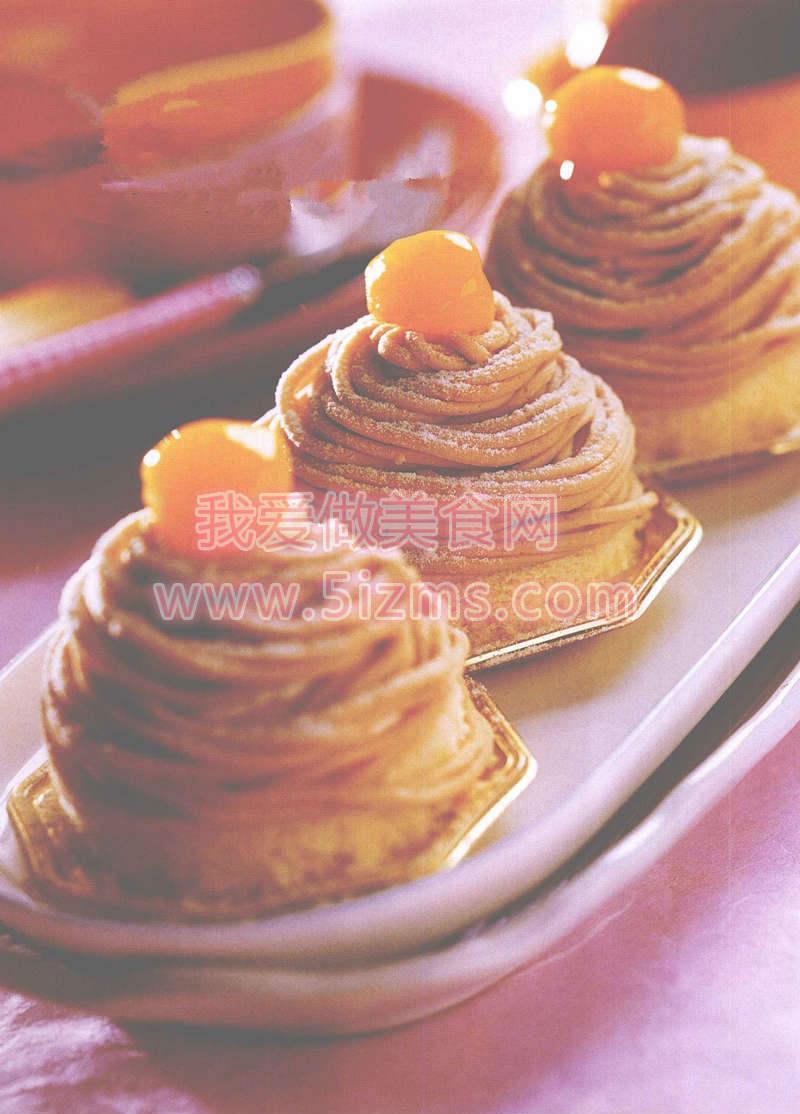烘焙入门烘焙食谱之栗子蛋糕