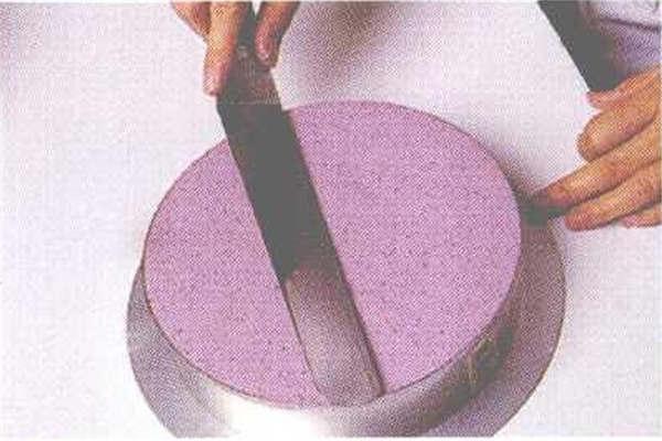 烘焙入门烘焙食谱之蓝莓慕斯制作步骤5