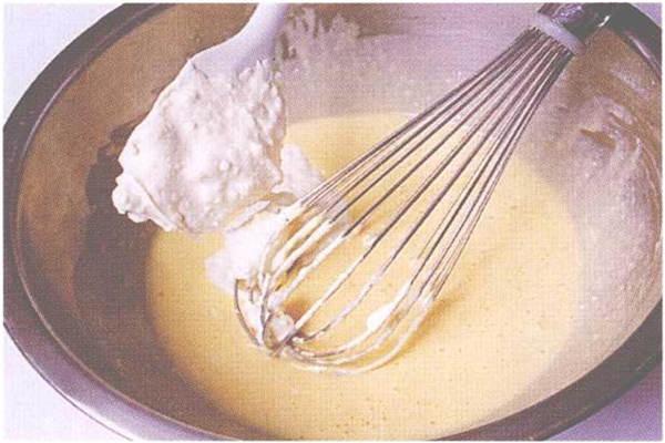 烘焙入门烘焙食谱之轻乳酪蛋糕制作步骤4