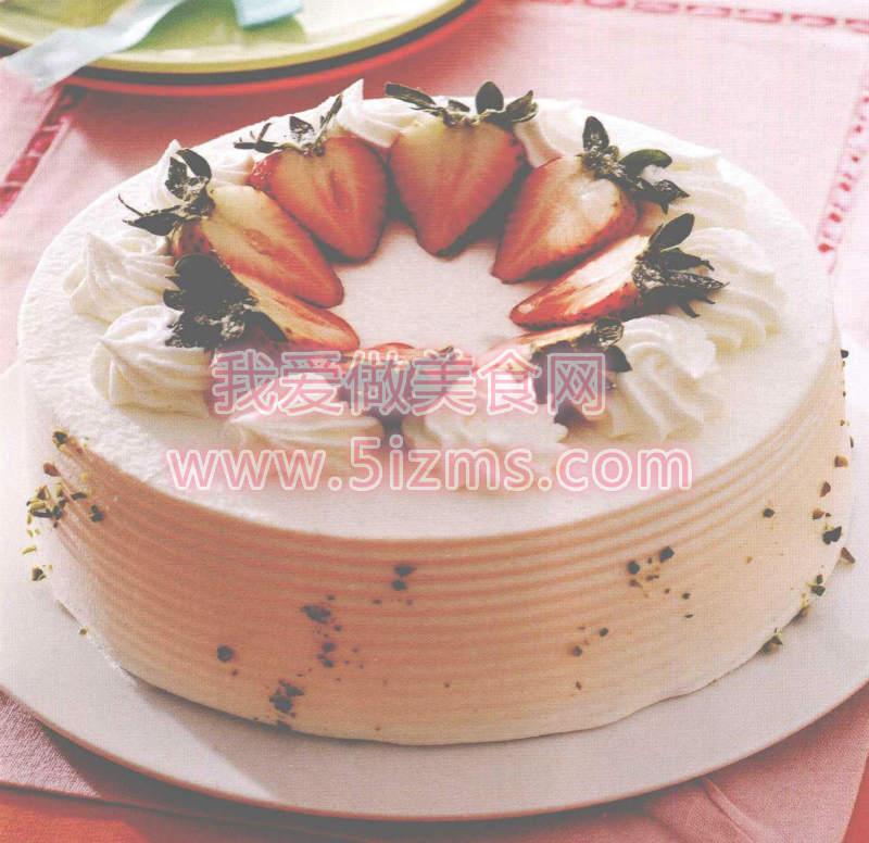 黄金香草戚风蛋糕