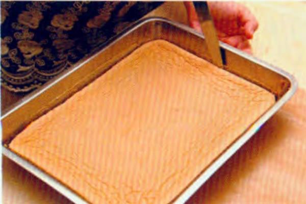 烘焙入门烘焙食谱之咖啡蛋糕卷制作步骤11