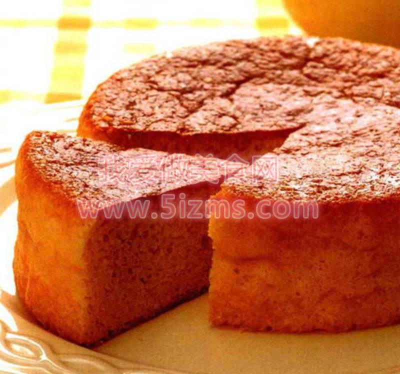 烘焙入门烘焙食谱之胡萝卜香橙海绵蛋糕