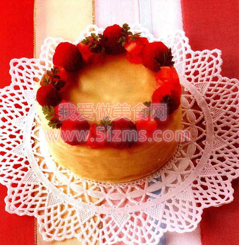 烘焙入门烘焙食谱之雪白小蛋糕