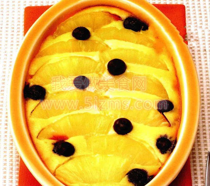 烘焙入门烘焙食谱之菠萝奶酪蛋糕