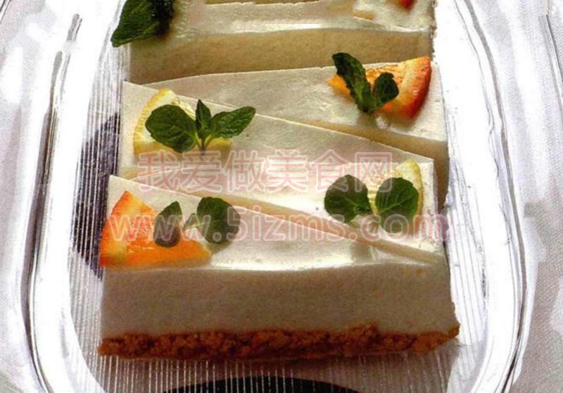 烘焙食谱之白干酷奶酪蛋糕