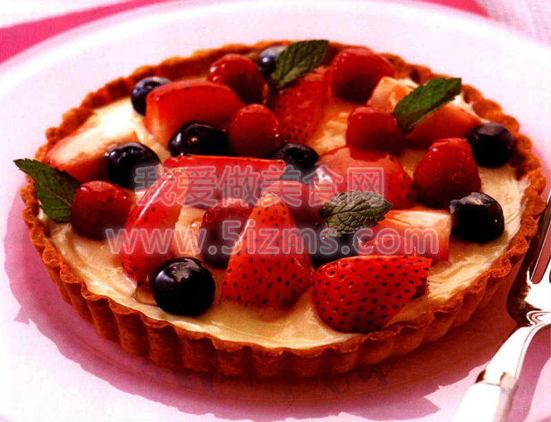 烘焙入门烘焙食谱之莓果挞蛋糕