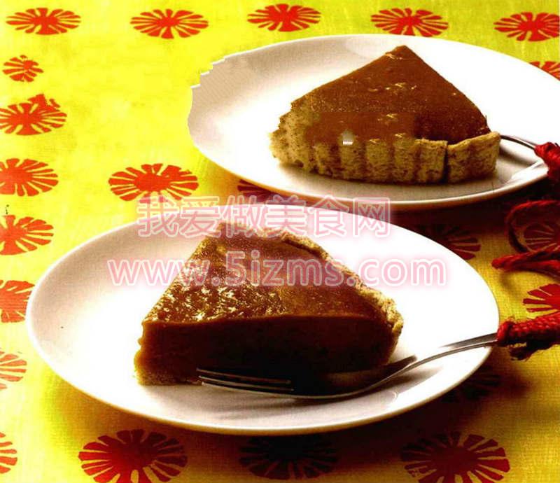 烘焙入门烘焙食谱之南瓜挞蛋糕