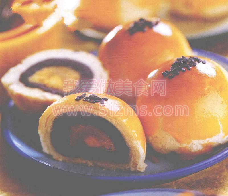 烘焙入门烘焙食谱之蛋黄酥