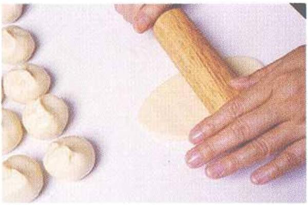 烘焙入门烘焙食谱之蛋黄酥制作步骤3