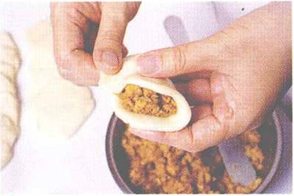 烘焙入门烘焙食谱之咖喱饺制作步骤5