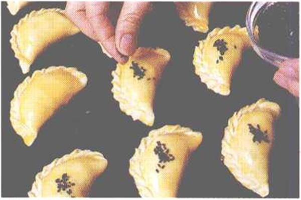 烘焙入门烘焙食谱之咖喱饺制作步骤7