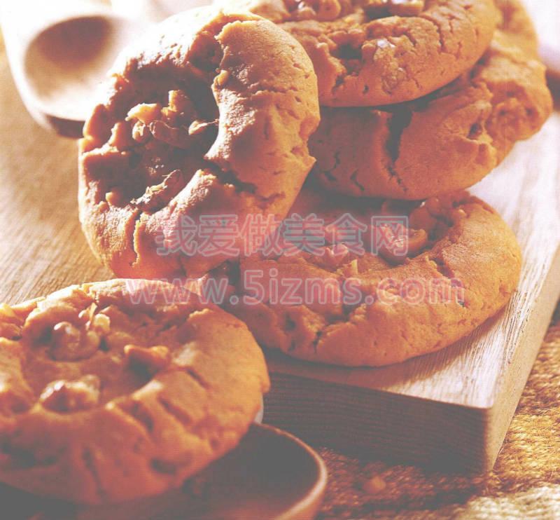 烘焙入门烘焙食谱之桃酥饼