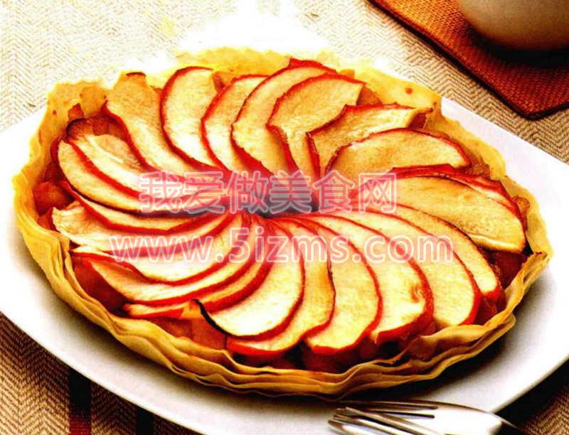 烘焙入门之春卷皮苹果派