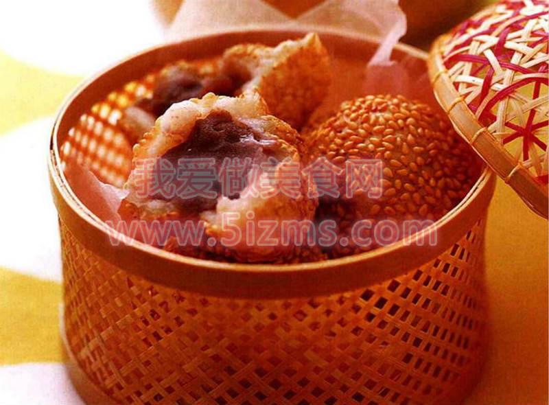 烘焙食谱之豆腐麻团