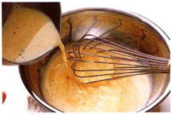 烘焙入门烘焙食谱之制作布丁液制作步骤2