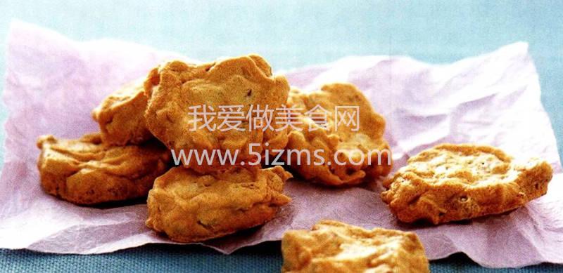 蛋白核桃脆饼