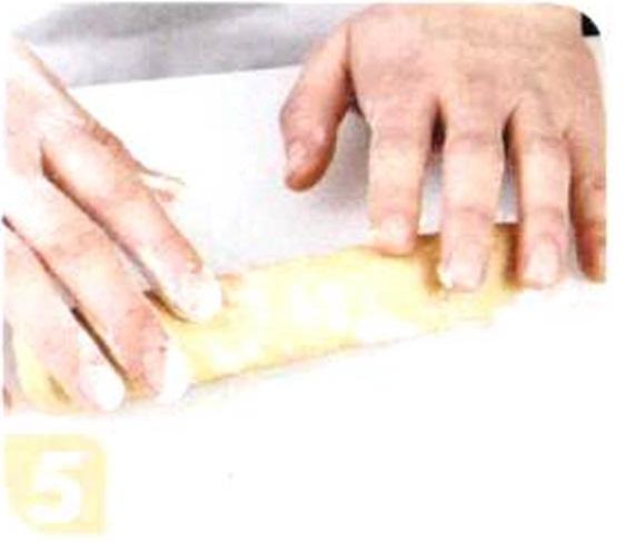 烘焙入门烘焙食谱之花生饼干制作步骤5