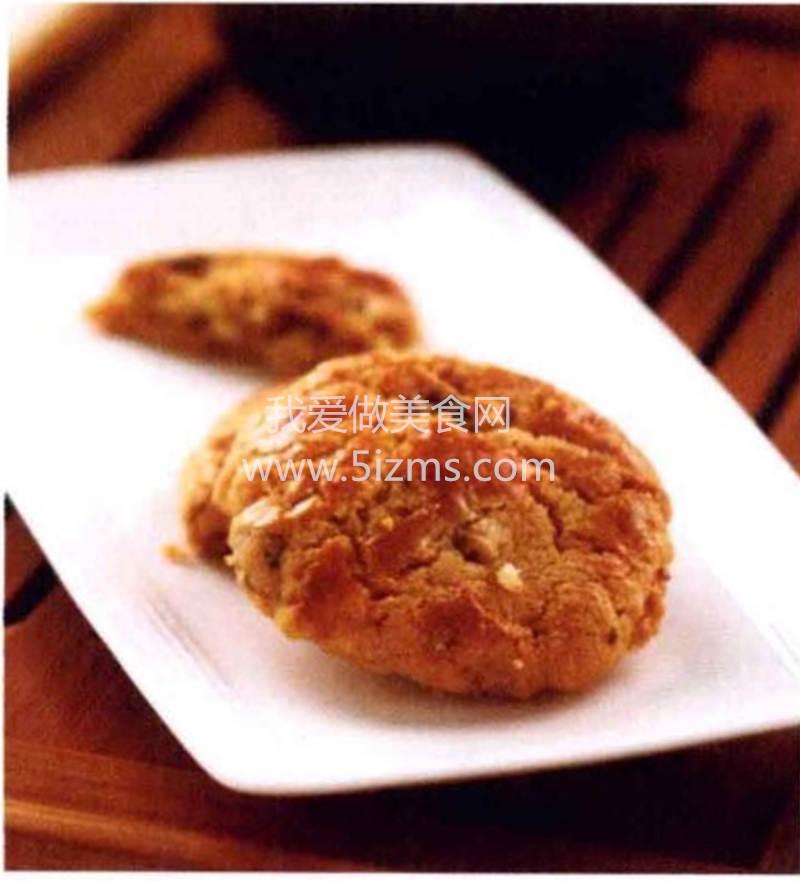 烘焙入门烘焙食谱之核桃脆饼