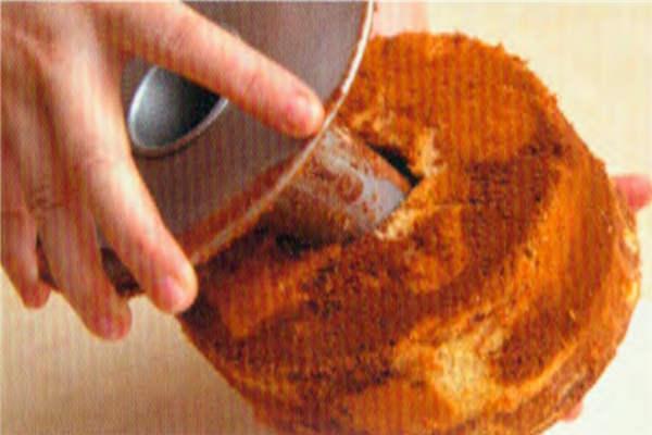 烘焙入门烘焙食谱之大理石蛋糕制作步骤17