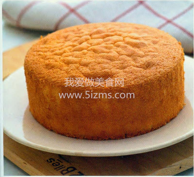 烘焙入门烘焙食谱之基本全蛋蛋糕
