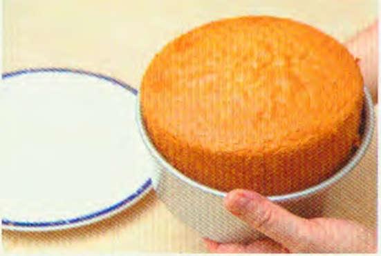烘焙入门烘焙食谱之基本全蛋蛋糕制作步骤21
