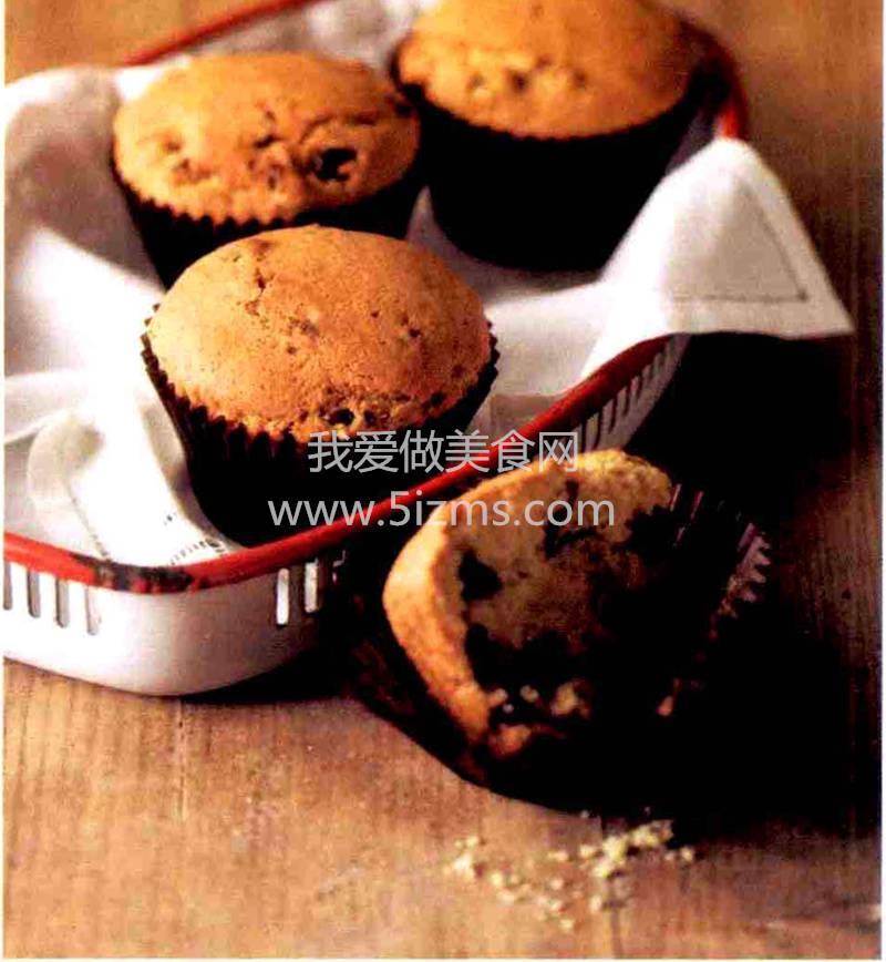 烘焙入门烘焙食谱之蔓越莓玛芬蛋糕