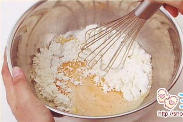 烘焙入门烘焙食谱之制作方法:制作步骤3