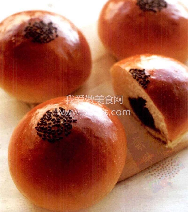 烘焙入门烘焙食谱之红豆面包
