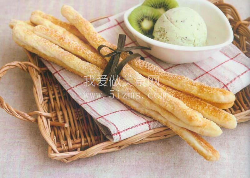 烘焙入门烘焙食谱之帕马森起司长条面包棍