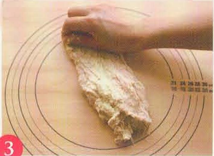 烘焙入门烘焙食谱之帕马森起司长条面包棍制作步骤3