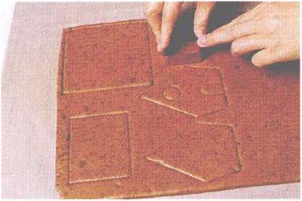 烘焙入门烘焙食谱之外墙模型制作方法制作步骤4
