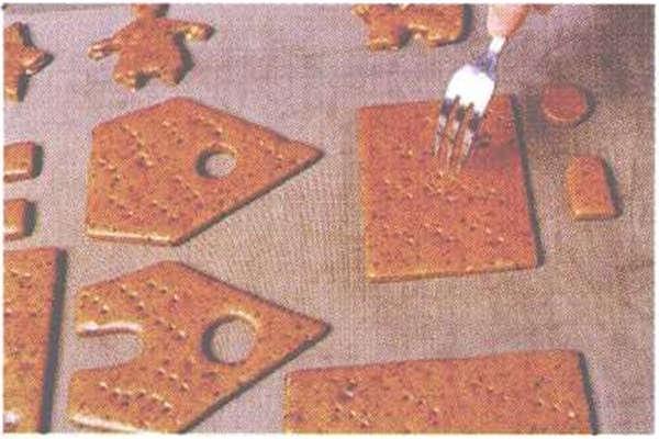 烘焙入门烘焙食谱之外墙模型制作方法制作步骤5