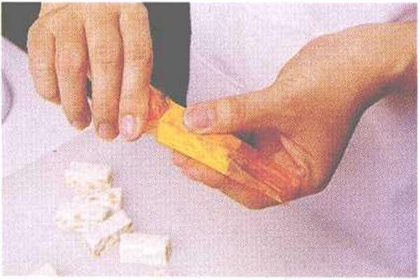 烘焙入门烘焙食谱之牛轧糖制作步骤10