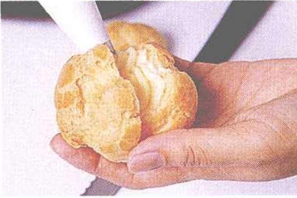 烘焙入门烘焙食谱之泡芙制作步骤9