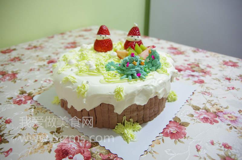 自制场景蛋糕