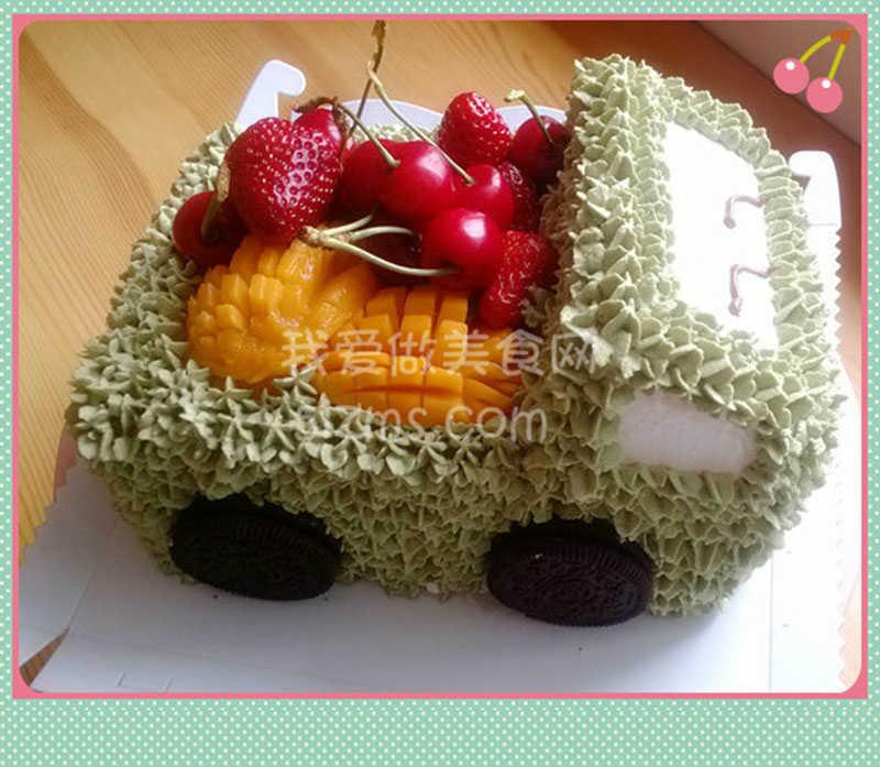 烘焙入门之自制小汽车蛋糕